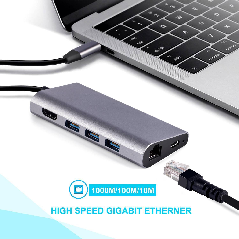 8 in 1 USB C Hub